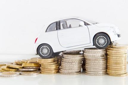 白い車とお金