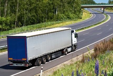 海外で走るトラック