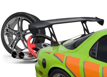 改造車とタイヤ