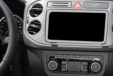 車のオーディオ場所