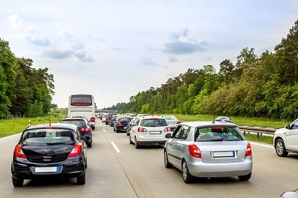 高速道路の交通渋滞