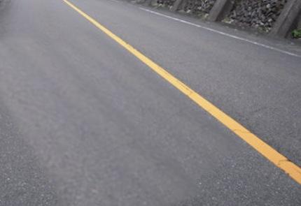 道路の黄色ライン