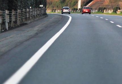道路と路肩