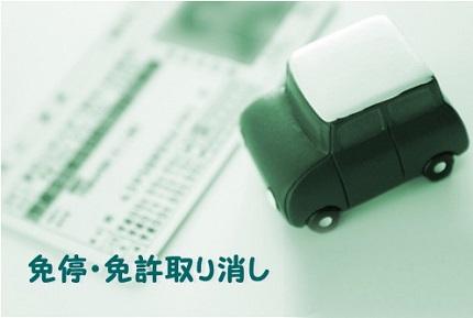 免許証とミニカーの車