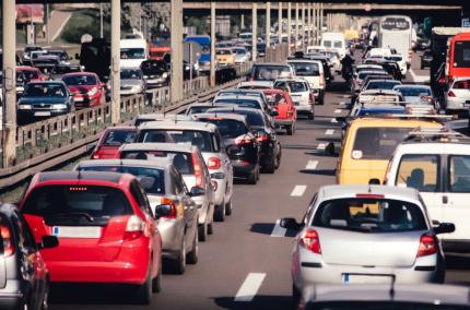 海外道路の渋滞