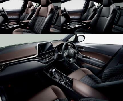 C-HR車内