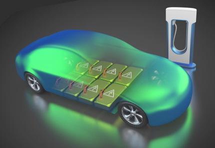 電気自動車と充電器