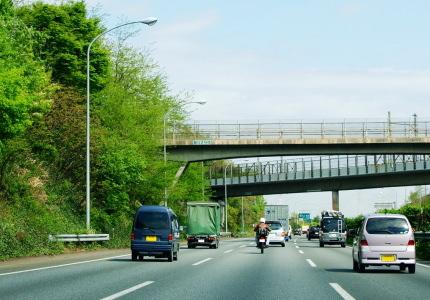 高速道路の様子