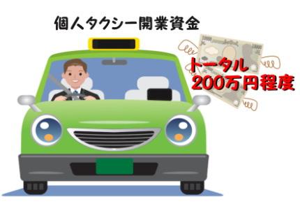 緑色のタクシー