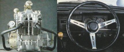 ホンダN360のタコメーター