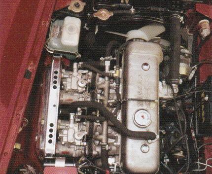 フェアレディ2000のエンジン