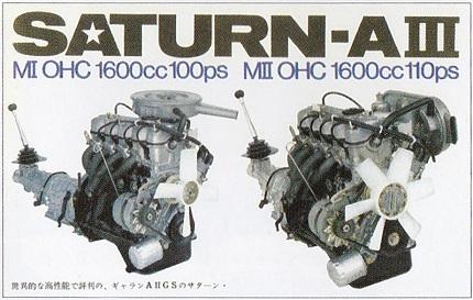 直列4気筒OHCエンジン