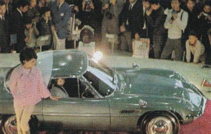 1964年9月の東京モーターショー