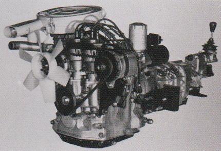 水冷2ロータータイプの10A型