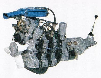573cc×2の12A型エンジン